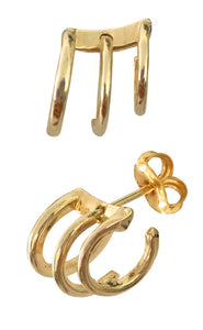 Bell Faux Piercing<br /><i><small>14K Yellow Gold</small></i><br />