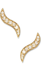 Load image into Gallery viewer, Ghost Pavé Climber<br /><i><small>14K Yellow Gold with White Diamonds</small></i><br />