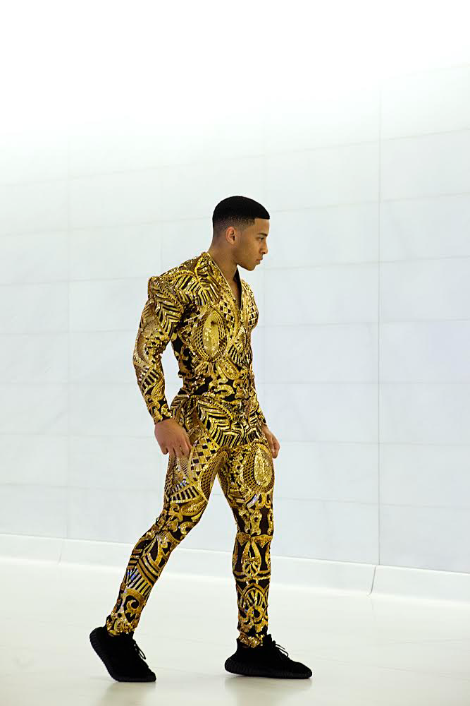 "Gold ""King"" Jumpsuit"