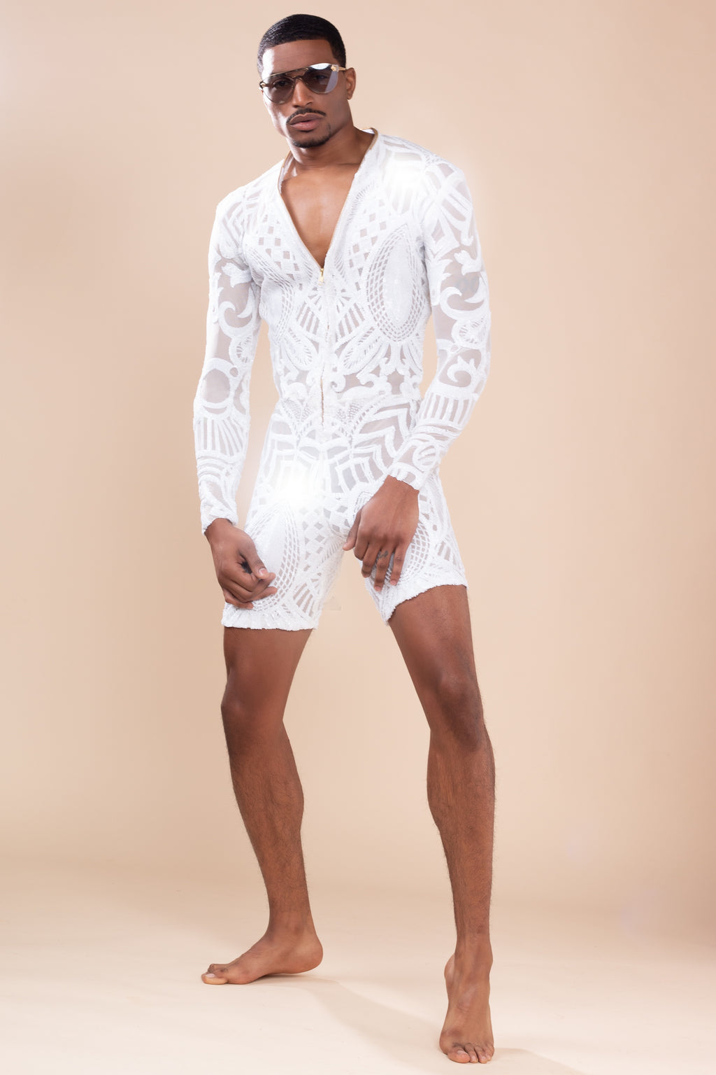 White king Romper Resort Collection