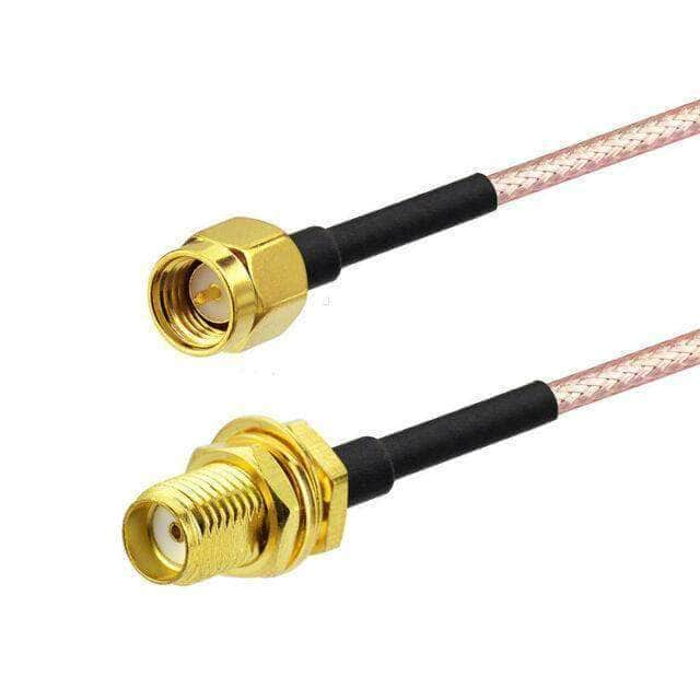 RG178 Pigtail Cable SMA Male to SMA Female