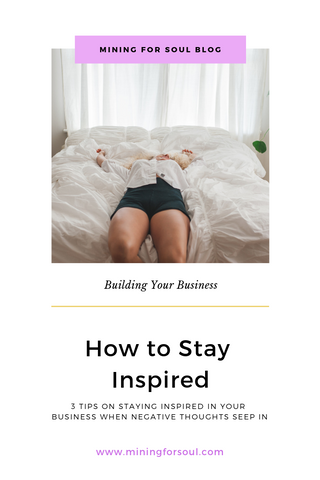 How to stay inspired in business