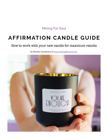 digital candle guidebook