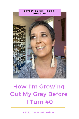How I'm growing out my gray before 40