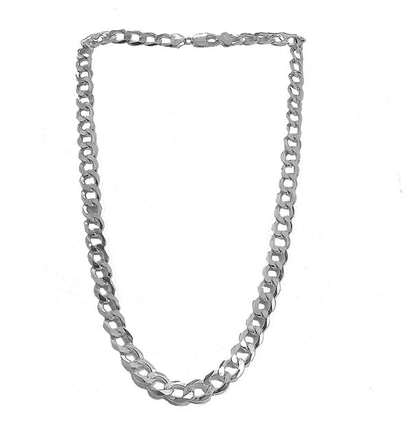 Heavy Curb link chain necklace(Cuban)
