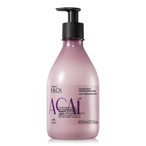 BODY LOTION WITH REVITALIZING AÇAÍ OIL