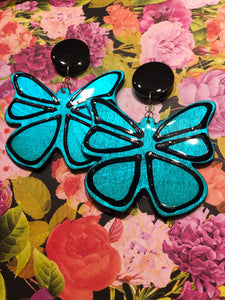 Fly Away With Me (Metallic Turquoise)