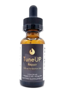 TuneUP Extra Strength Repair 1500 mg Full-Spectrum