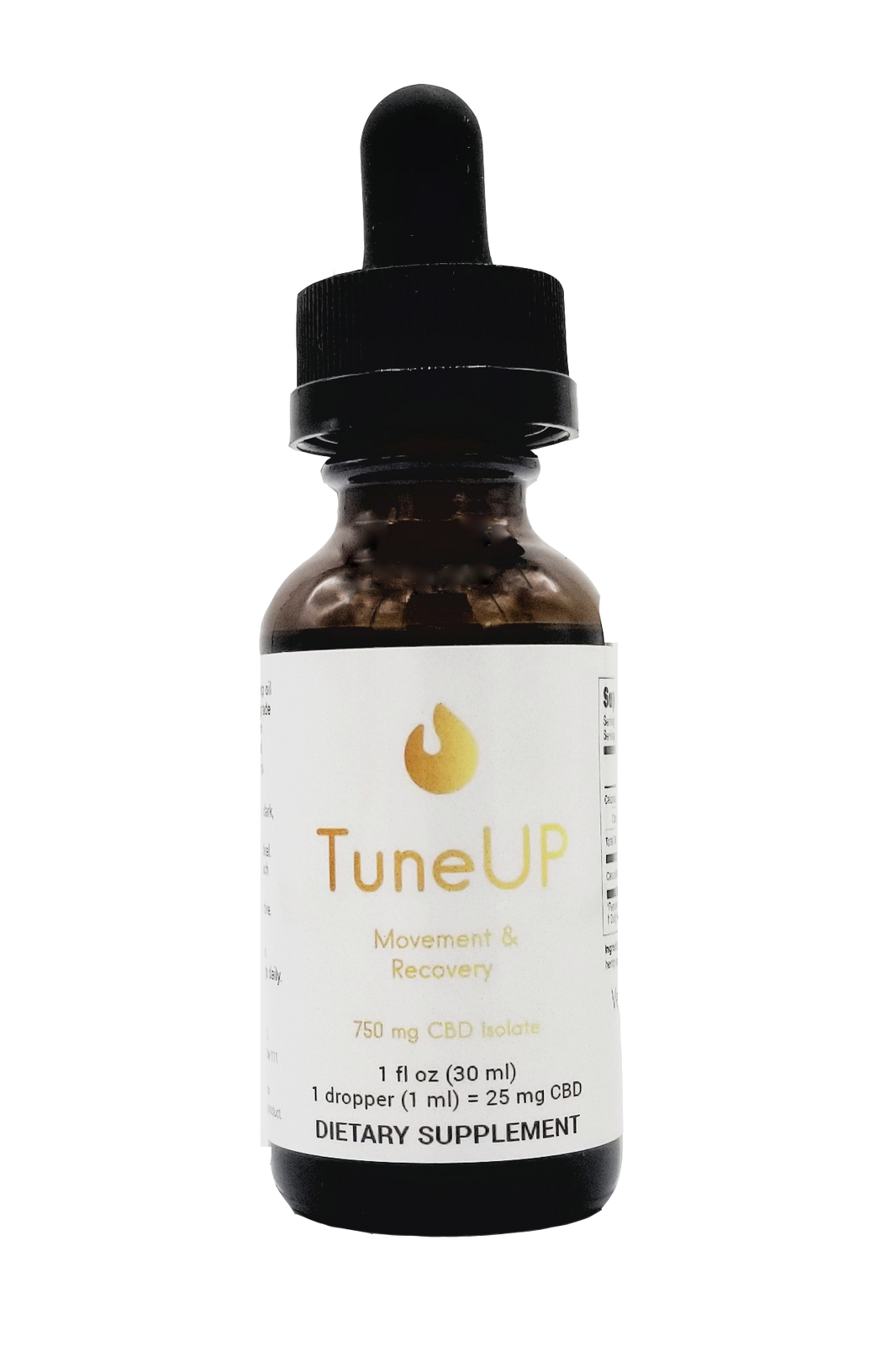 TuneUP CBD Isolate Tincture 750mg