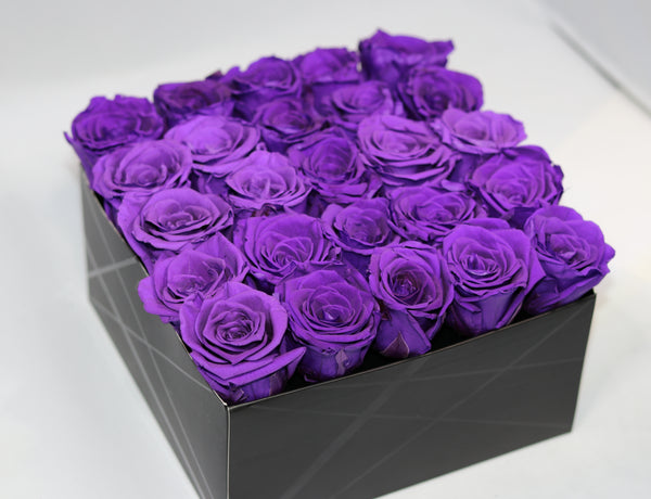Purple Royalty Roses - De Moi Luxe