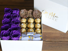 Rose Chocolate Gift Box - De Moi Luxe