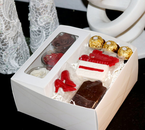 Triple Rose Glam Gift Box - De Moi Luxe