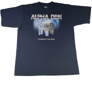 Alpha DBN LEADER OF THE PACK - Navy T-Shirt