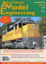 Australian Model Engineer Magazine Back Issues 121-135