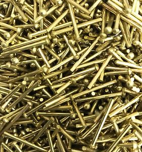 Brass Round Head Rivets