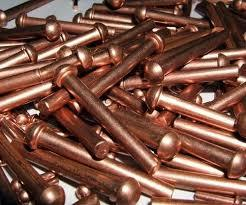 Copper Round Head Rivets