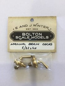 Mechanical Drain Cocks for Stationary Engines Etc
