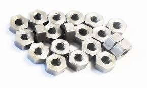 British Association (BA) Steel Small Hex Nuts