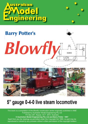 Barry Potter's Blowfly Manual