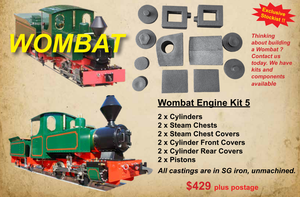 Wombat Engine Cylinder Kit
