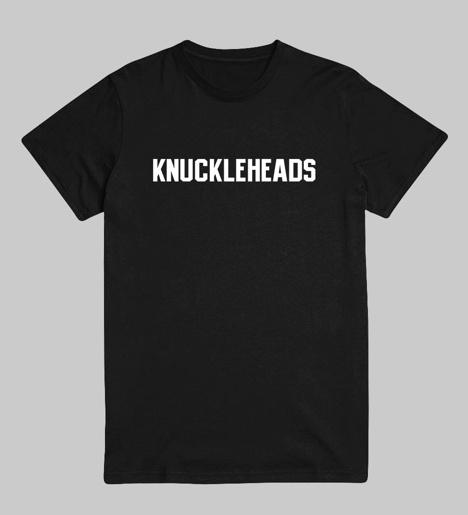 Knuckle Heads Classic Tee (Black/White)