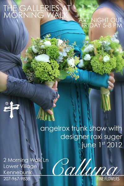 angelrox at calluna fine flowers in kennebunk me june 1st