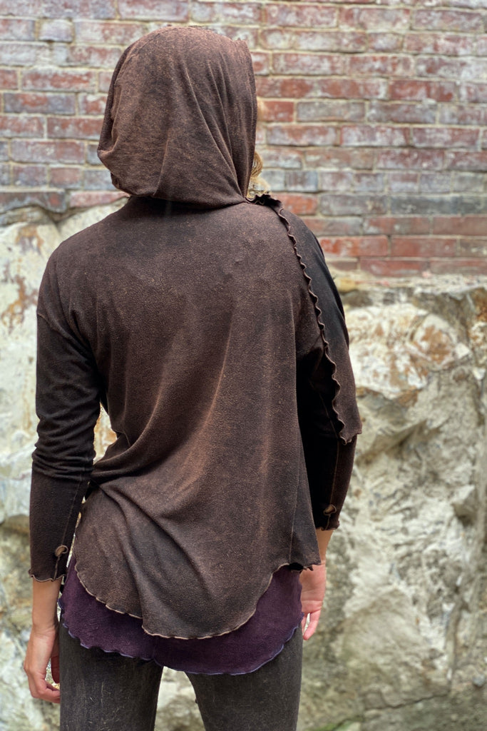 cacao mineral shire wrap jacket