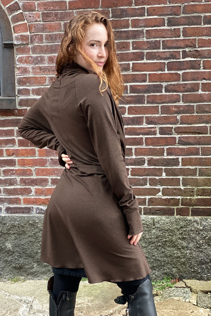 suger ® espresso bamboo riding coat