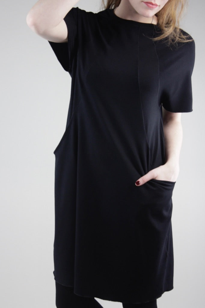 suger® jewel dress in black