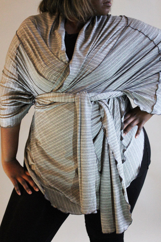 heather stripe opera wrap by angelrox