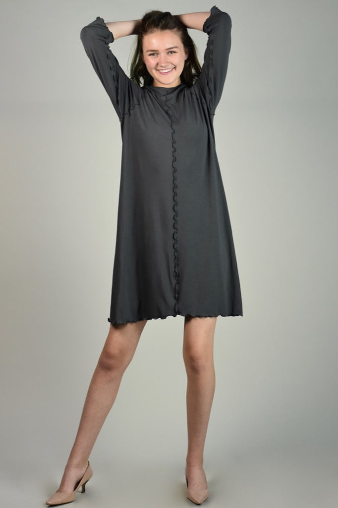 swing dress in iron