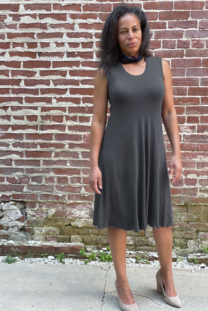 strength + comfort in the iron lady glow dress