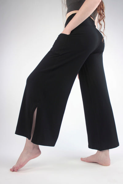 suger® harlow pant in black bamboo