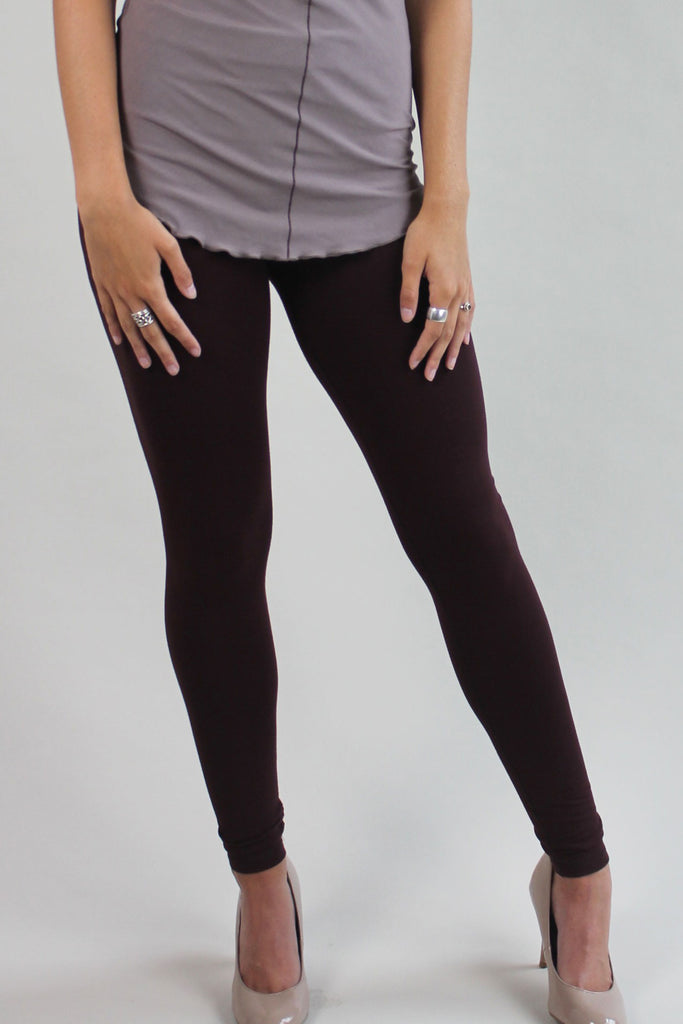wine base comfort legging