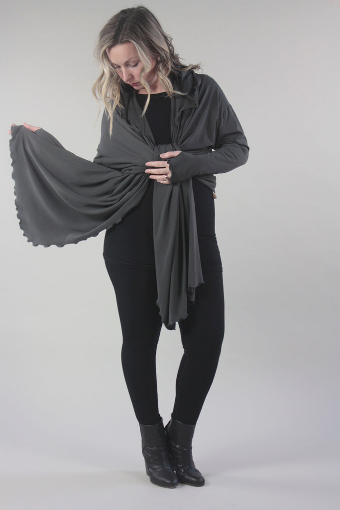 suger® black terry base size cloud + black cap tunic + shire ore