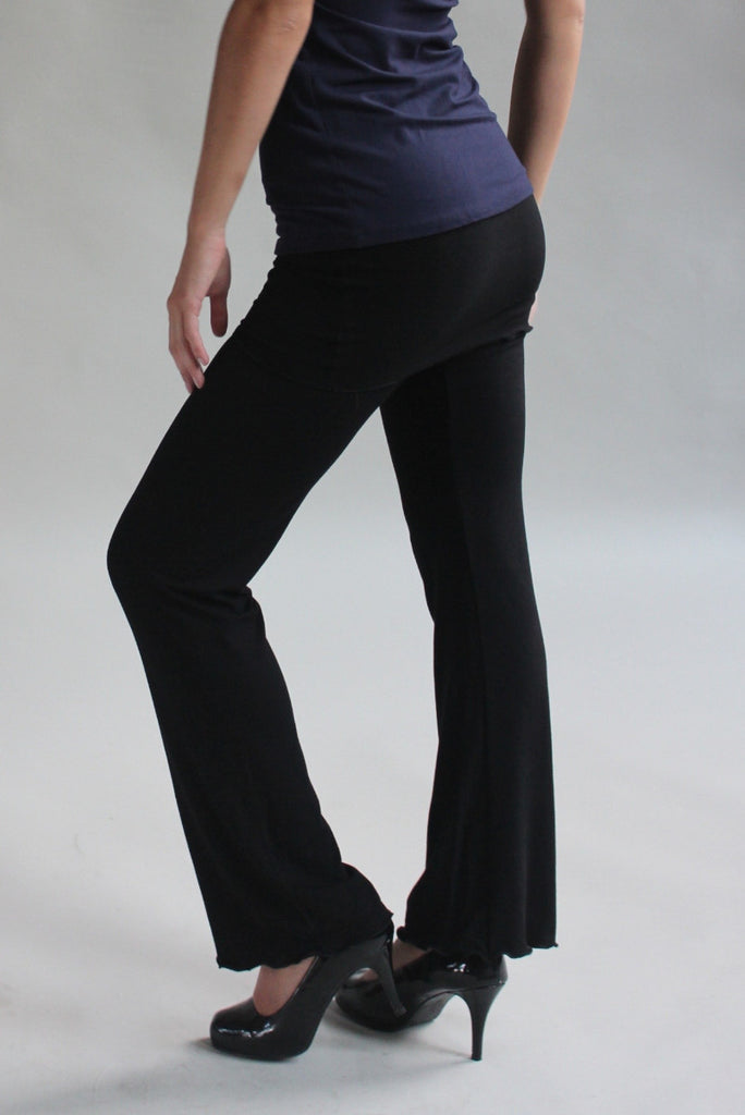 black bamboo trouser + deep sea cap tunic by angelrox