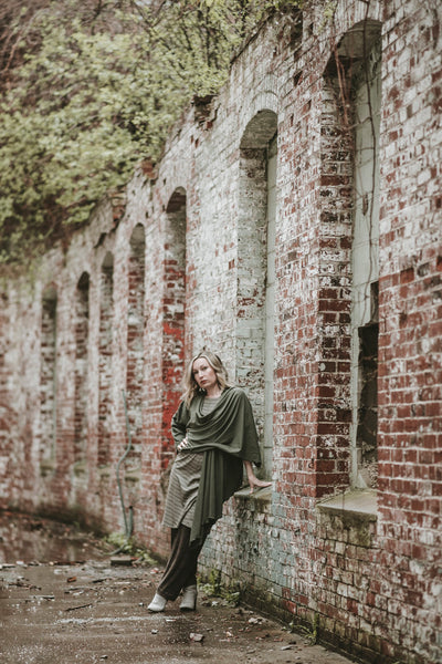 mineral bloom pant earth noble dress + moss prima by suger®