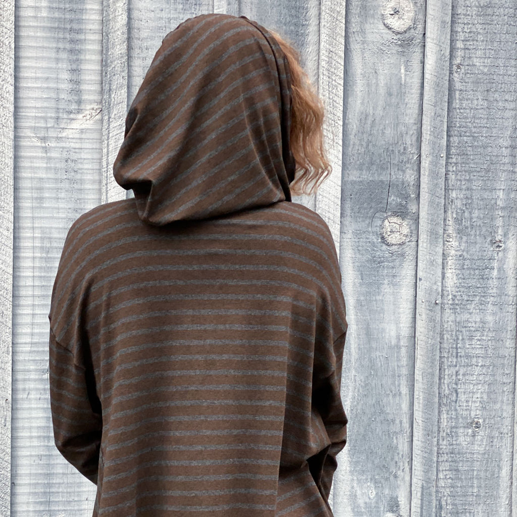 shire hood adds warmth + comfort