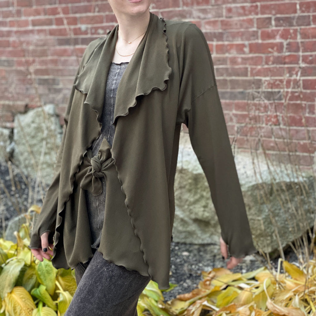 olive river jacket by angelrox®