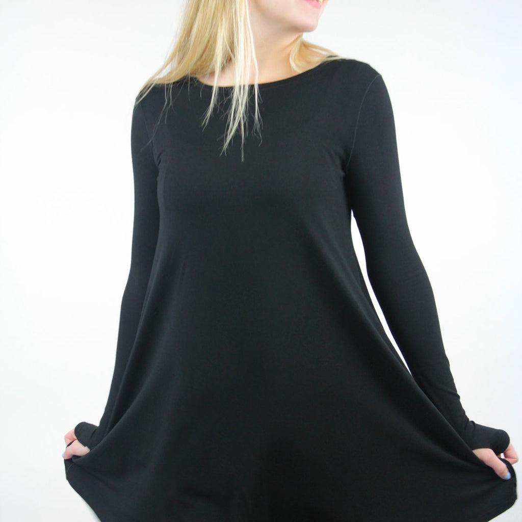 stella dress in black