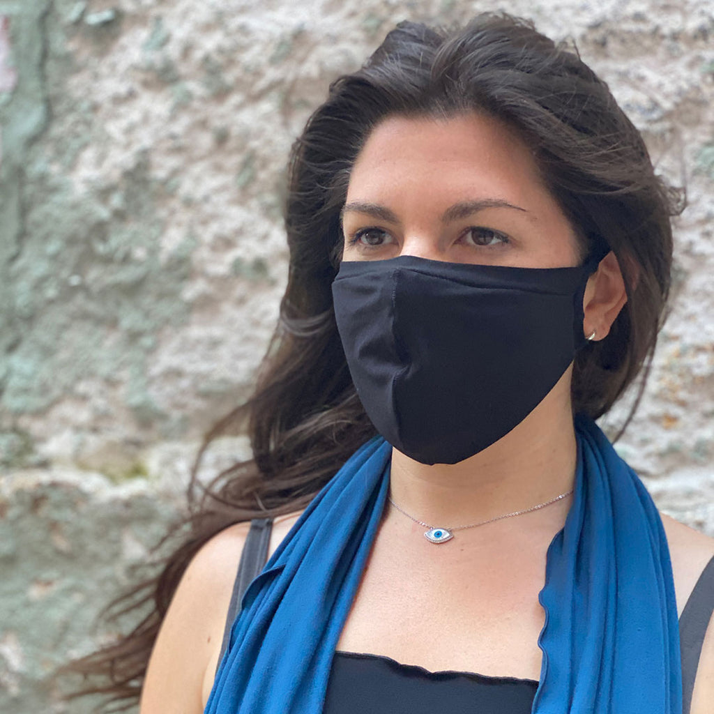 black bamboo hush mask + lake loop