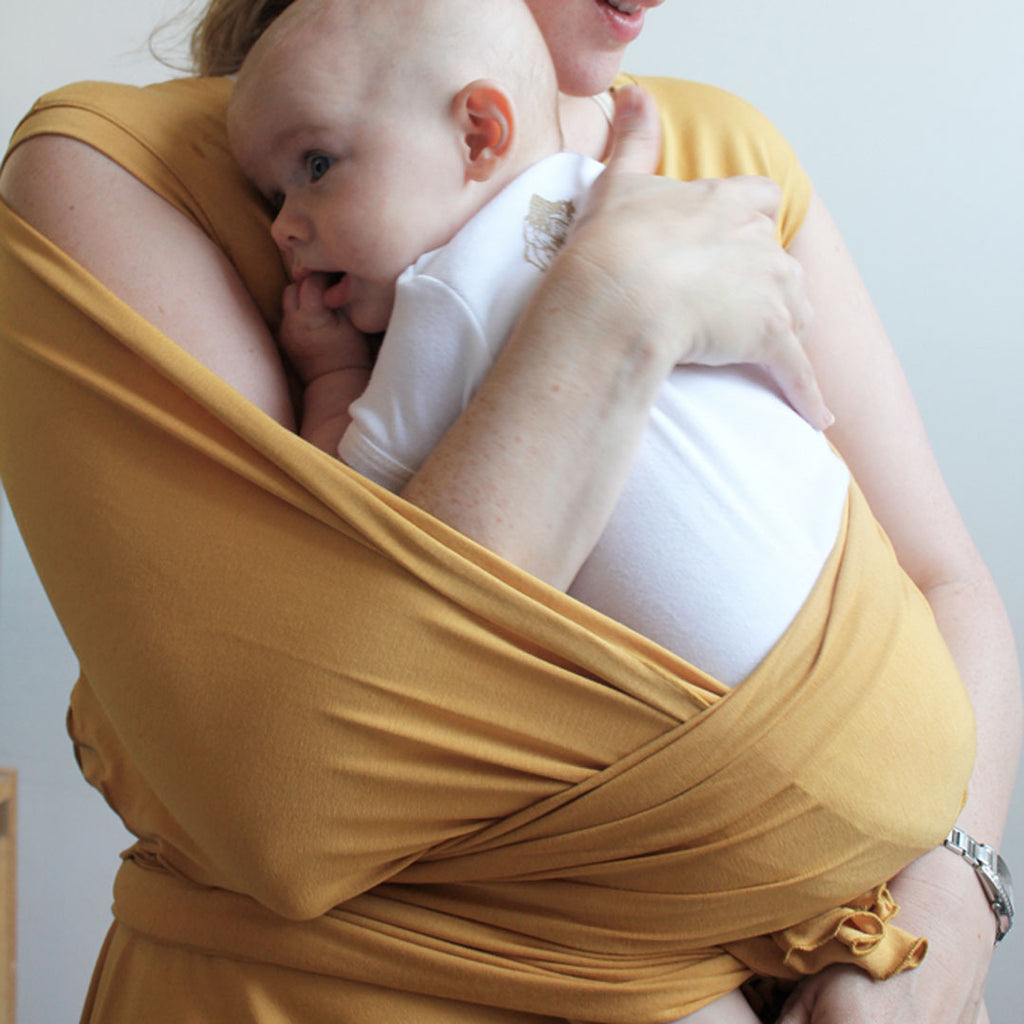 amber wrap on a sweet momma
