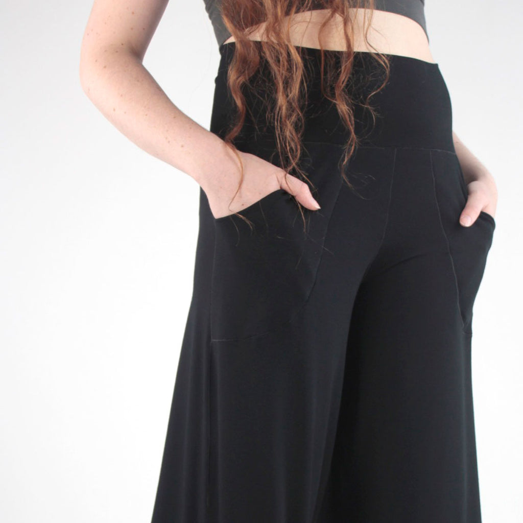 black harlow wide leg pant