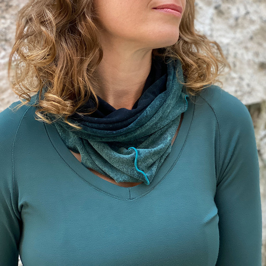 blue mineral hourglass is simply magic with the spruce vitality tunic
