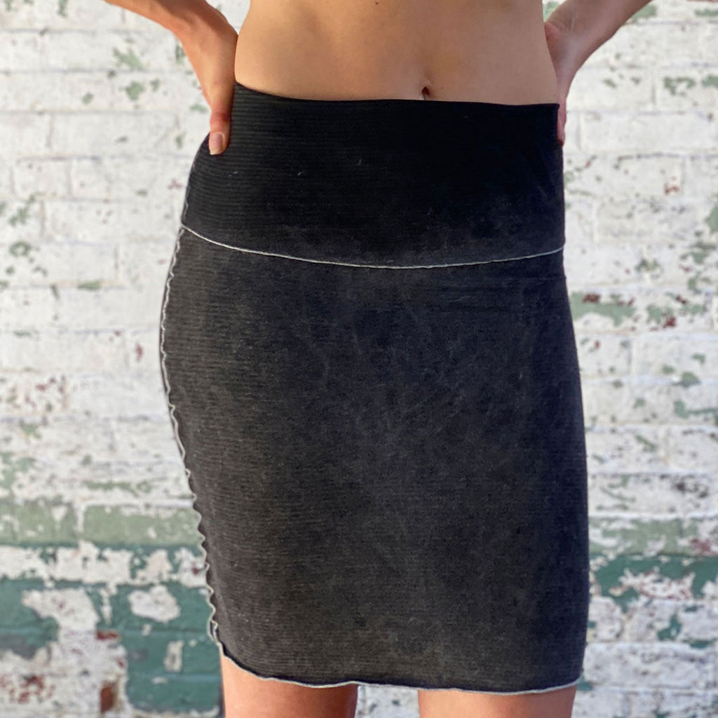 hourglass pencil skirt in mineral