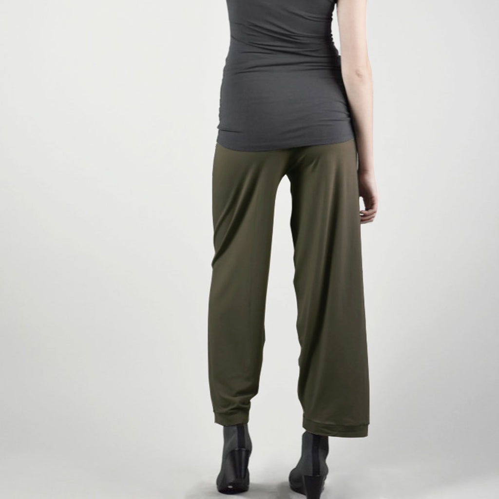 olive bamboo bloom pant