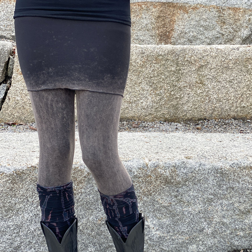 mineral climber as a skirt and legging pair