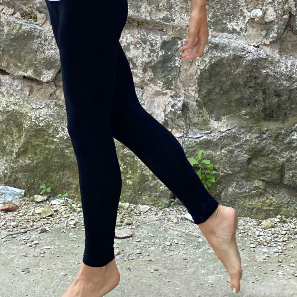 black base comfort legging