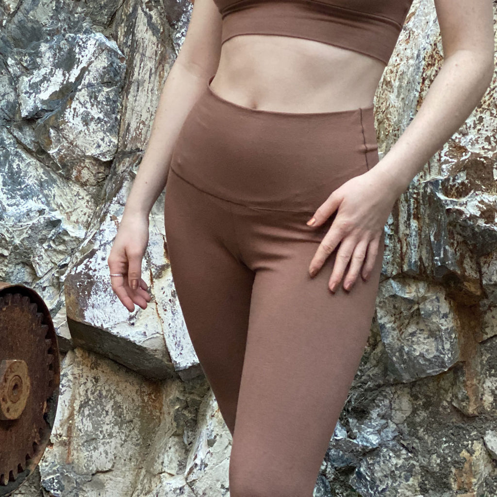 cedar bamboo base comfort legging and our matching base bra