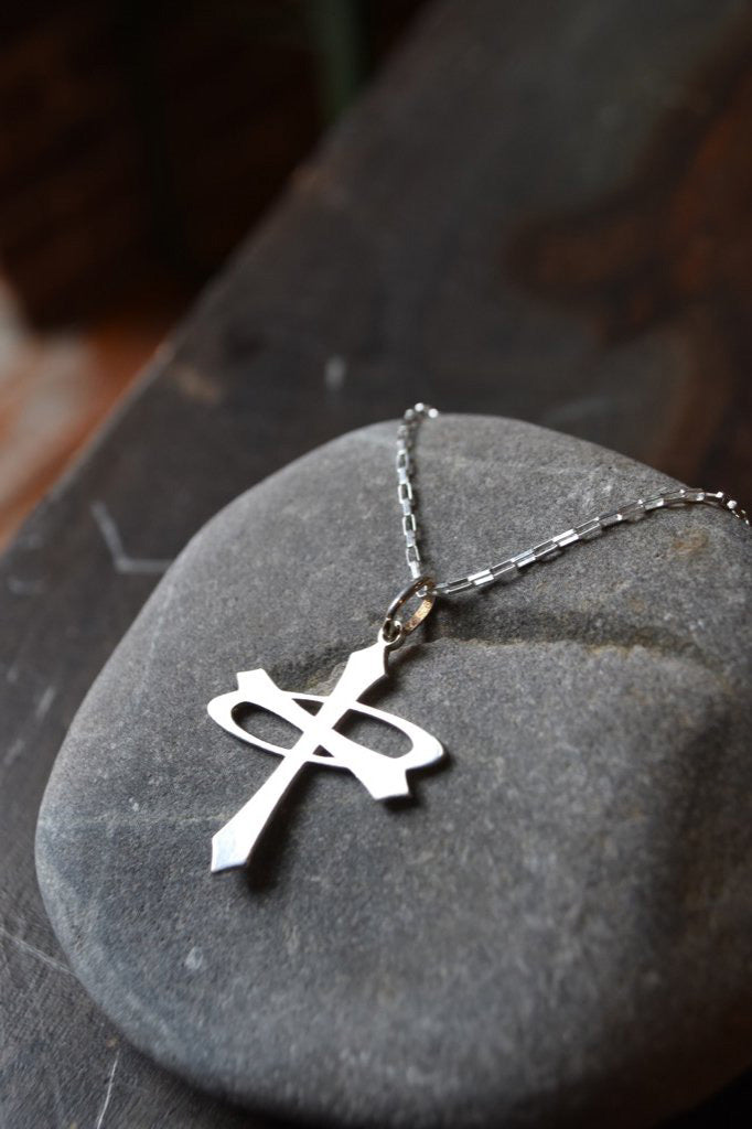 Angelrox Balance Logo Necklace